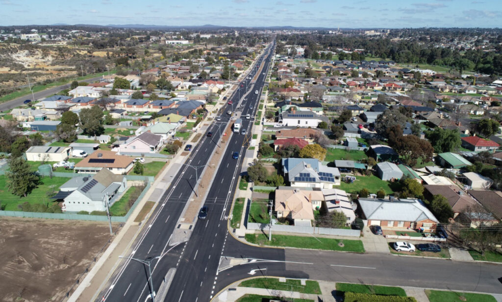Bendigo, Spiire, Civil Engineering, Surveying, Landscape Architecture, Road, infrastructure upgrade