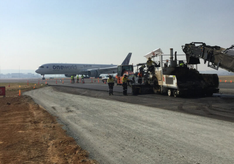 Taxiway Bravo Extension, Canberra Airport